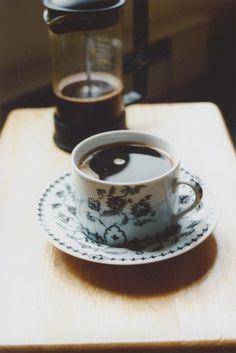 Morning Coffee by sydosaurus