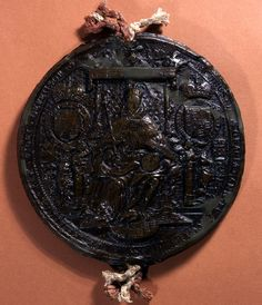 The first Great Seal of James I, obverse, 1603- 1605, SC 13/N4.