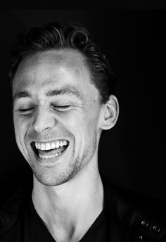 an adorable laughing loon!  love this..this is now becoming my fave pic of him. :D