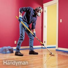 How to #Refinish Hardwood Floors - Get #DIY instructions: http://www.familyhandyman.com/floor/hardwood-floors/how-to-refinish-hardwood-floors