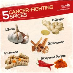 cancerfight spice, fit, fight cancer, healthi food, health remedi, eat healthi, cancer fighter, spices, natur remedi