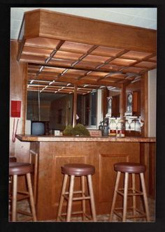 Bar - Gun Cabinet - Hidden Room