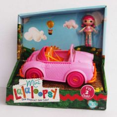Mini Lalaloopsy Doll Cake Dunk n Crumble and her Car Playset