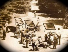 thoughts, andi griffith, andy griffith, scene, films, film crew, people, spotlight, shooting