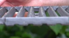 Grilling Tip - How to care for cast iron cooking grids.