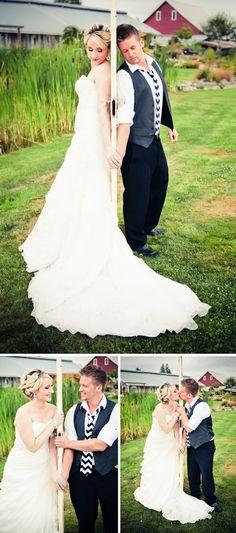 AHH!  What an adorable idea!  Use a vintage door as a prop for your first look photos!  wedding ideas.  first look photo ideas.  wedding photo ideas.  wedding photography.  vintage wedding.  outdoor wedding. rustic wedding.
