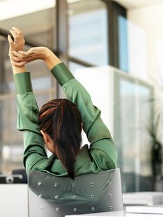 Office Exercises - Easy Exercises to Do at Work - Woman's Day