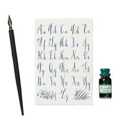 Learn Calligraphy On Pinterest Calligraphy Alphabet