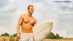 male model surfer