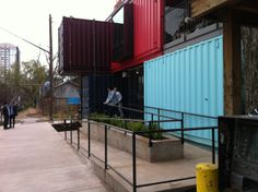 Loving the Container Bar on Rainey Street. #ourAustin #sxsw #kennethcole