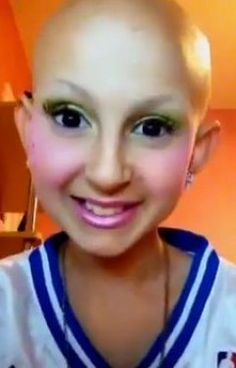 Talia Joy Castellano, 12-Year-Old Cancer Patient, Creates Youtube Makeup Tutorials (VIDEOS)