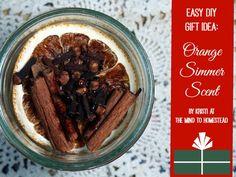 orang simmer, scent 12, christma gift, magazines, oranges, simmer scent, diy christmas gifts, homesteads
