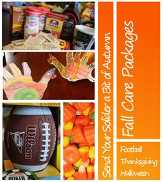 Start planning to send your service member a FALL THEMED CARE PACKAGE now! Lots of great ideas!