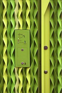 color and texture #architecture #green