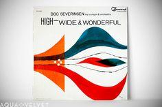 Mid-Century Album Cover. Love the illustration.