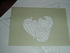 circleofcrafters: How to Make Your Own Iris Folding Patterns using a Template