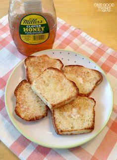 My Mom's Amazing English Muffin Toasting Bread!