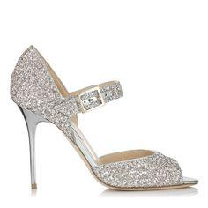 The Jimmy Choo LACE peep toe heels