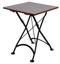 """One Kings Lane - Life of the Party - Deauville 24"""" Square Folding Table"""
