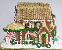 gingerbread houses | Gingerbread House Picture Gallery - Gingerbread Houses Can Be Made for ...