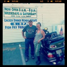 Food and travel writer Dana McMahan on an eastern Kentucky motorcycle trip with her dad |  kentuckymonthly.com