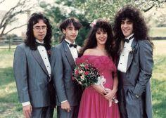 "When weddings truly rocked.  Like when Lynne was ""Living in Eau Claire."""