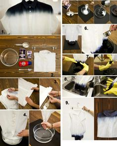 DIY Ombre Shirt