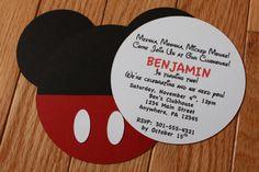 mickey invite