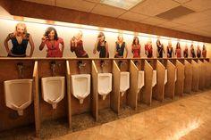Men's Room.  Las Vegas Hilton.