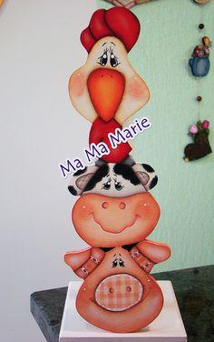 Porta rolo de papel Fazendinha | Flickr - Photo Sharing!