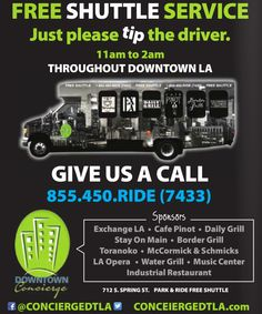 LA Downtown可坐免费巴士-美国精品资讯