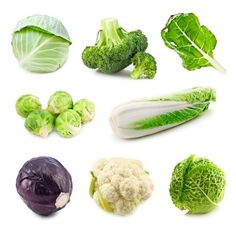 These include broccoli, brussel sprouts, cabbage, cauliflower and kale. They are rich in fiber, vitamins and minerals. They contain important antioxidants such as beta carotene and the compound sulforaphane.