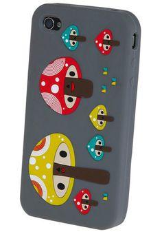 Mushroom iphone case....