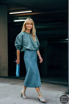 Образы Streetstyle на New York Fashion Week SS20