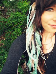 feather long, feather extens, long feather, boho hair feathers
