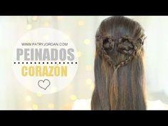 SECRETOS DE CHICAS    Peinados con trenzas en forma de corazón