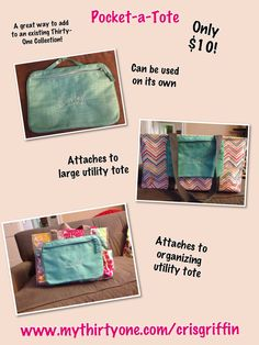 Thirty one spring 2013 pocket a tote!