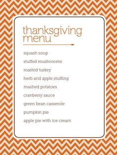 4 downloadable, customizable, printable #hgtvmagazine #thanksgiving menus!! Click here to get yours http://www.hgtv.com/holidays-and-entertaining/4-thanksgiving-menus-from-hgtv-magazine/index.html?soc=pinterest