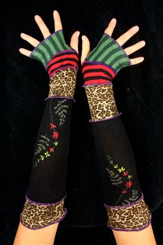 love these #recycled arm warmers!