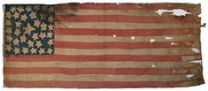 Few American flags capture the essence of the Civil War like this 35 star homemade flag, made in 1863 along the Ohio-West Virginia border to...