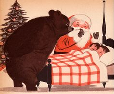 My Christmas Treasury: A Collection of Christmas Stories, Poems, and Songs -pictures by Lowell Hess (1957).