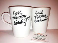 Latte mug couple set