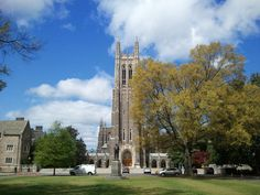 Duke University, in Durham, is a private university in our state.