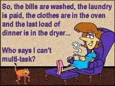 So, the bills are washed....