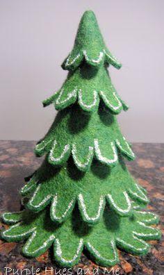 Felt Christmas Stacking Tree