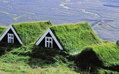 green roofs, houses, iceland, architectur, travel tips