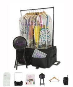 Dance competition costume bag