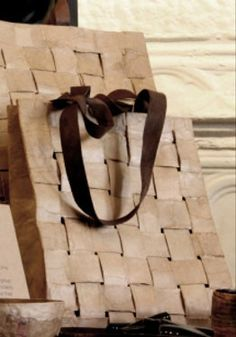 Paper Woven Bags