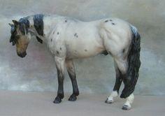 Resin model horse