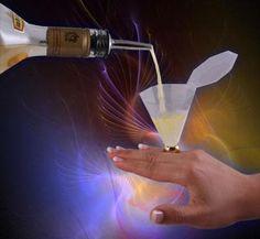 haha- Bling Ring (LED) shot glass ring